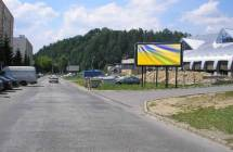Card image cap141037 Billboard, Brezno (Novomeského,3-panel)
