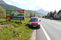 Card image cap561069 Billboard, Hubová ()
